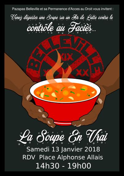 La Soupe en Vrai - Sur un Air de lutte contre le contrôle au faciès